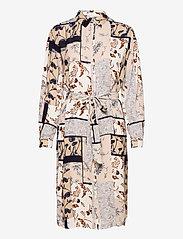 Fransa - FRVACRINKLE 5 Dress - blousejurken - navy blazer mix - 0