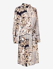 Fransa - FRVACRINKLE 5 Dress - blousejurken - navy blazer mix - 3