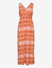 Fransa - FRAMSELFA 2 Dress - zomerjurken - dusty orange mix - 0