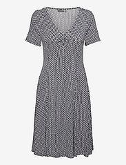 Fransa - FRAMDOT 5 Dress - midi jurken - vintage indigo graphic mix - 0
