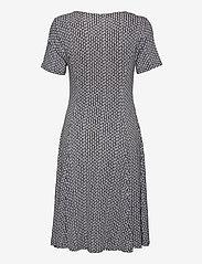 Fransa - FRAMDOT 5 Dress - midi jurken - vintage indigo graphic mix - 1