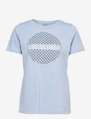 Fransa - FRPETEE 2 T-shirt - hihattomat topit - brunnera blue - 0