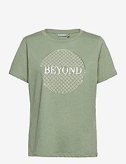 Fransa - FRPETEE 2 T-shirt - hihattomat topit - lily pad - 0