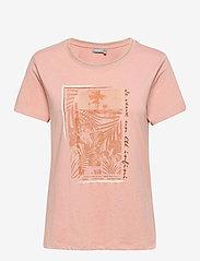 Fransa - FRVEKAM 2 T-shirt - t-shirts - misty rose - 0