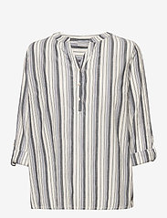 Fransa - FRVAVIS 2 Blouse - blouses met lange mouwen - navy blazer mix - 2