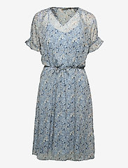 Fransa - FRALCHIFLOW 2 Dress - zomerjurken - cashmere blue mix - 0
