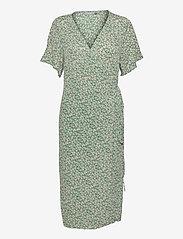 FRALCRINKLE 2 Dress - CLOVER GREEN MIX