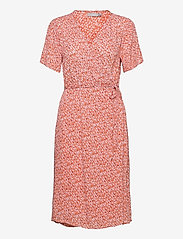Fransa - FRALCRINKLE 2 Dress - dusty orange mix - 0