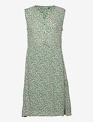 Fransa - FRALCRINKLE 3 Dress - zomerjurken - clover green mix - 2