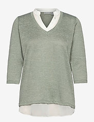 FRVEREXAN 1 Pullover - LILY PAD MELANGE