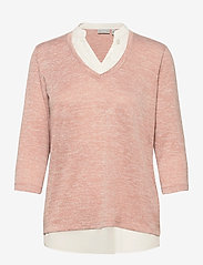 Fransa - FRVEREXAN 1 Pullover - truien - misty rose melange - 1