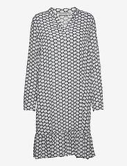 Fransa - FXTELANA 2 Dress - alledaagse jurken - brunnera blue mix - 0