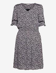 Fransa - FRALCRINKLE 5 Dress - zomerjurken - navy blazer with flowers - 0