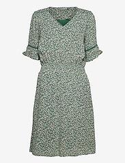FRALCRINKLE 5 Dress - CLOVER GREEN MIX