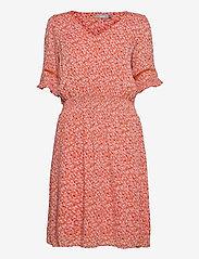 FRALCRINKLE 5 Dress - DUSTY ORANGE MIX