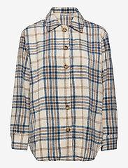Fransa - FXTEJACKET 1 Shirt - overshirts - oxford tan mix - 0