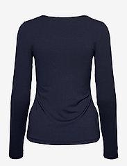 Fransa - Kasic 1 Tshirt - pitkähihaiset t-paidat - dark peacoat - 1