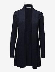 Fransa - Zubasic 61 Cardigan ESSENTIALS - cardigans - black iris - 0