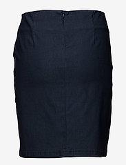Fransa - Zalin 3 Skirt - short skirts - dark peacoat - 1