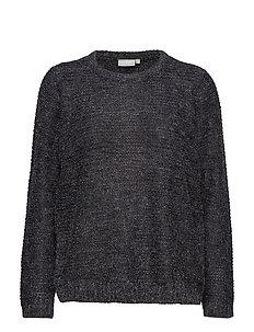 Piretta 2 Pullover - BLACK MELANGE