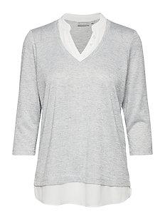 Pirexa 1 T-shirt - LIGHT GREY MELANGE