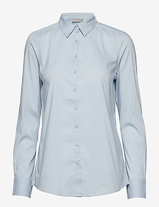 Zashirt 1 Shirt - long-sleeved shirts - cashmere blue