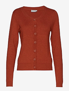 Zuvic 71 Cardigan - GINGER BREAD MELANGE