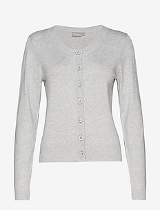 Zuvic 71 Cardigan - LIGHT GREY MELANGE