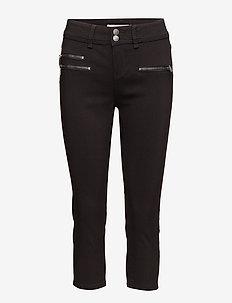 Zalin 10 Capri Pants - capribroek - black