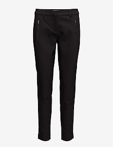 Zapant 1 Pants - straight leg trousers - black