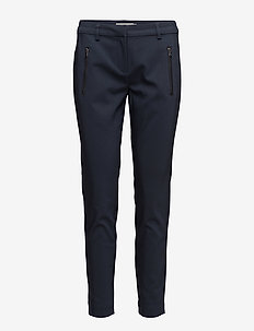 Zapant 1 Pants - straight leg trousers - dark peacoat