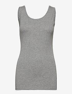Zaganic 5 Top - basic t-shirts - asphalt melange