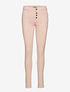 Natwill 1 pants - skinny farkut - peachskin