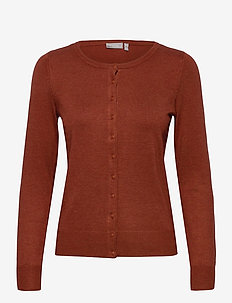 Zubasic 60 Cardigan - gilets - barn red melange