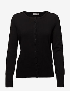 Zubasic 60 Cardigan - neuletakit - black