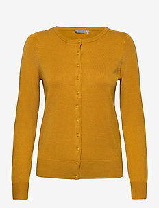 Zubasic 60 Cardigan - neuletakit - harvest gold