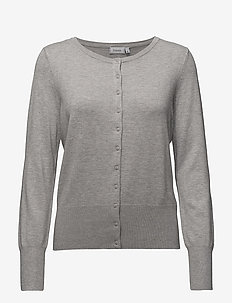 Zubasic 60 Cardigan - gilets - light grey melange