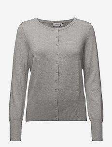 Zubasic 60 Cardigan - koftor - light grey melange