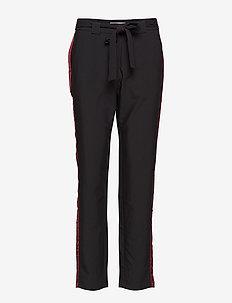 Tipanty 1 Pants - bukser med lige ben - black
