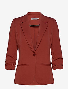 Zablazer 1 Blazer - casual blazers - barn red