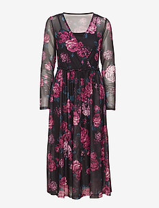 Rerose 1 Dress - FUCHSIA MIX