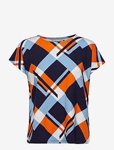 FRciround 1 T-shirt - MARITIME BLUE MIX