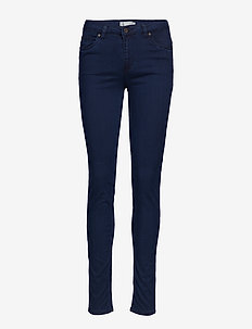 FRZAPOWER 1 Pants - skinny jeans - glossy blue denim