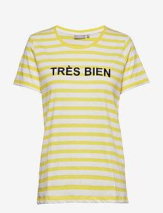 FRcioui 1 T-shirt - LEMON ZEST MIX