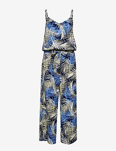 FRDAPRINT 4 Jumpsuit - MARITIME BLUE MIX