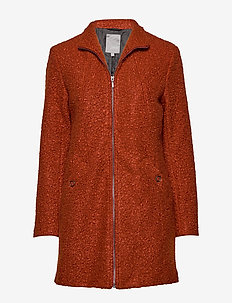 FRESBOUCLE 1 Outerwear - GINGER BREAD