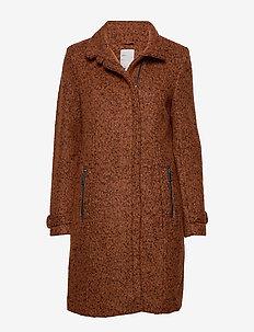 FRESWOOL 1 Outerwear - manteaux en laine - sequoia melange