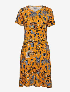 FREMDOTTON 2 Dress - INCA GOLD MIX