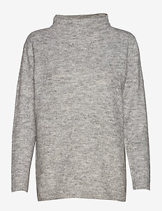FREMALLY 2 Pullover - LIGHT GREY MELANGE