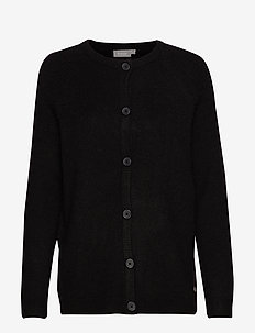 FREMALLY 3 Cardigan - BLACK